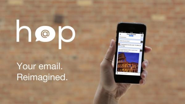 メールをチャット形式で表示出来るイケてるアプリ「HOP」!!