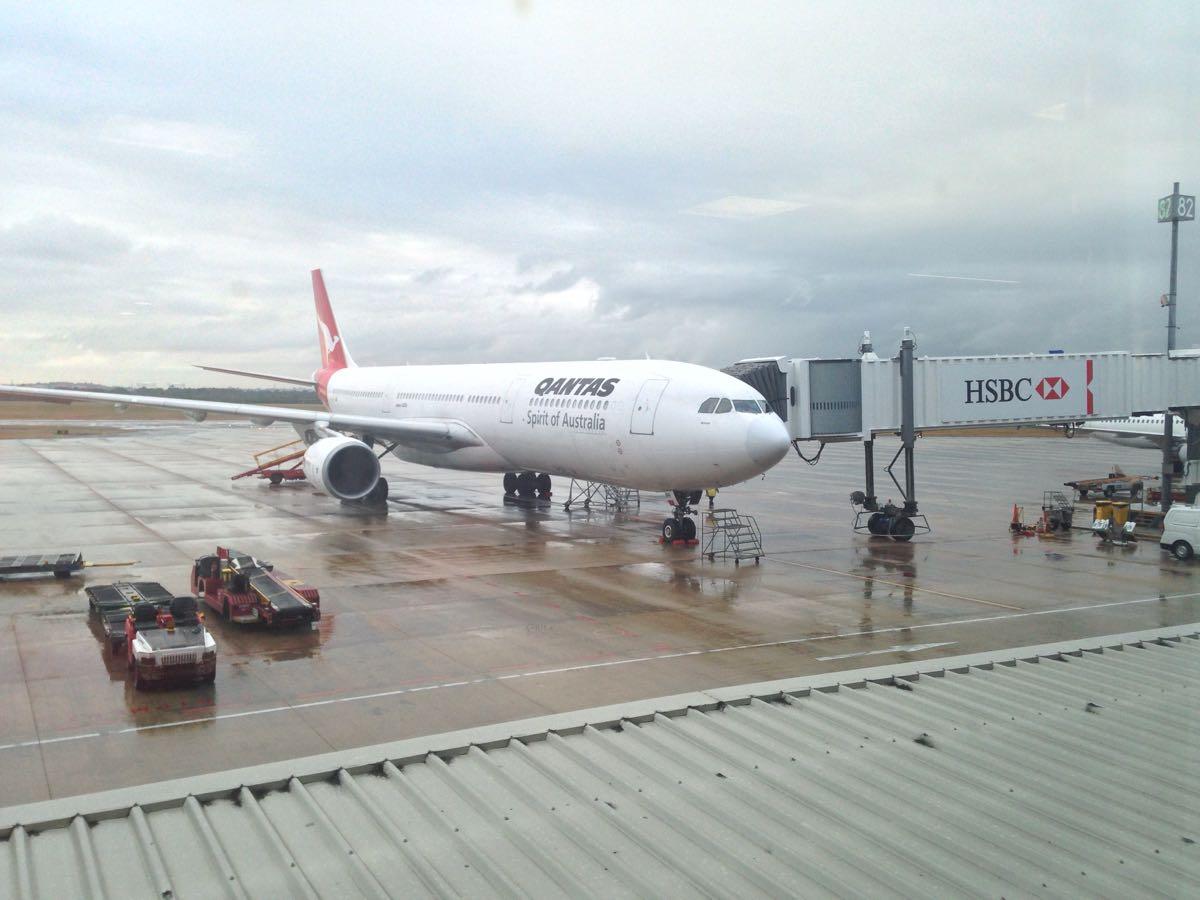 ブリスベン空港に着きました!トイレにはあのdysonが!