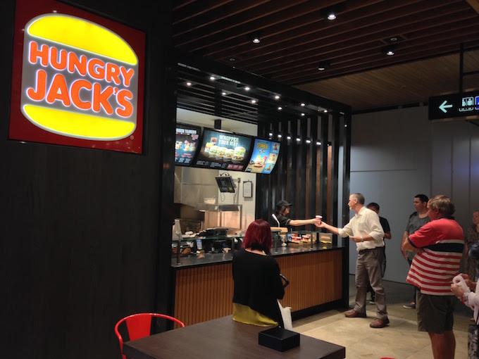 たった$1でHungry Jacksでハンバーガーを食べる方法!