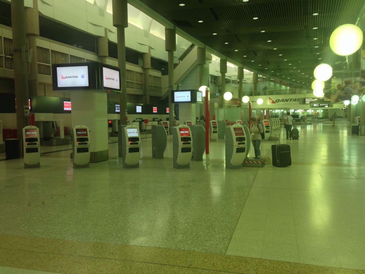 深夜のブリスベン空港には何があるのか探索してみた。ただそれだけ。