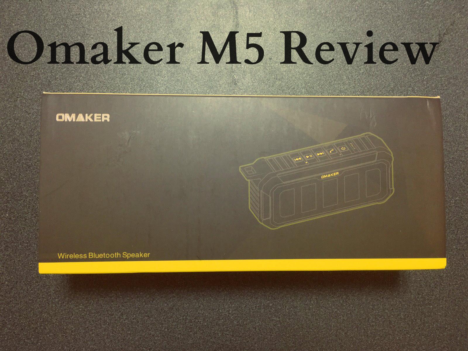 モード切り替えで1台2役!完全防水な高音質Bluetoothステレオスピーカー「Omaker M5」