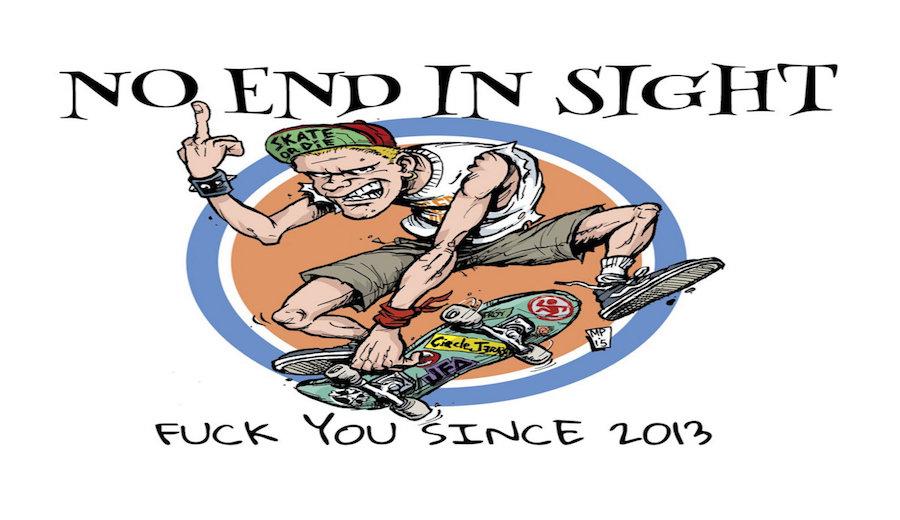 AHGRがカナダのポップパンクバンド「No End In Sight」と独占契約を結んだ話