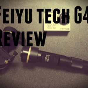 これさえあれば手ブレしらず!ヌルヌル動画がカンタンに撮れる「Feiyu tech G4」